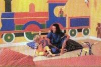 Разрисуем стены в детской комнате