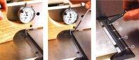 Установка ножей на строгальный станок
