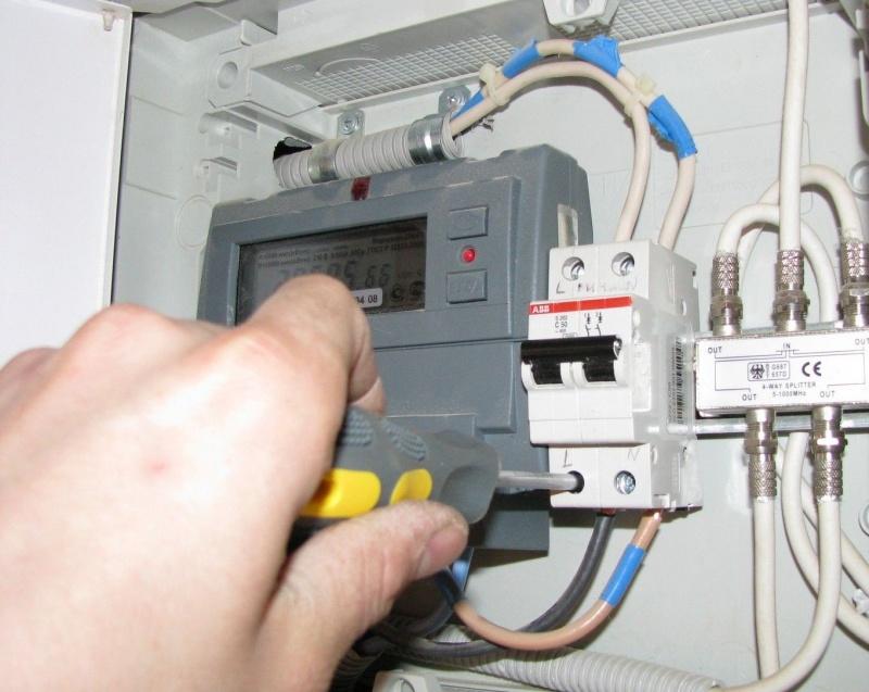 электрического счетчика
