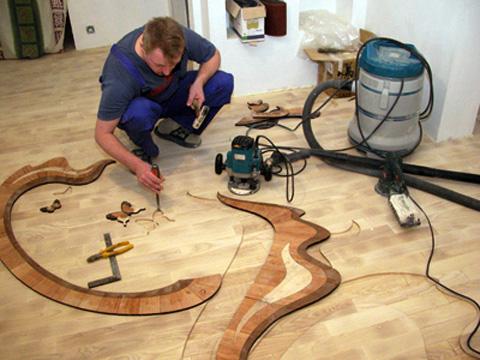 Renovation parquet sur lambourdes services travaux nice for Carrelage definition pau