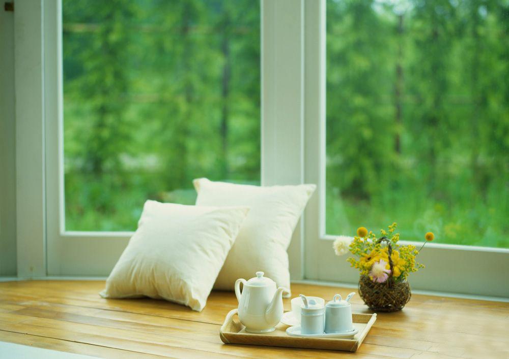 Красивые окна в домах фото