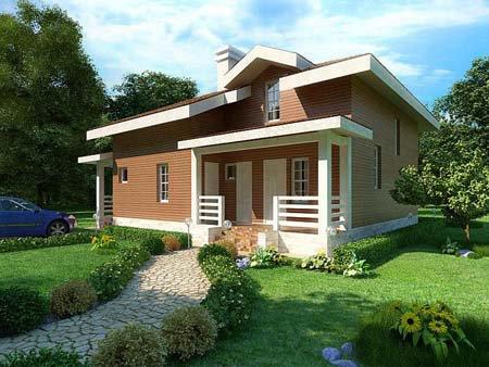 Выбрать дизайн дома