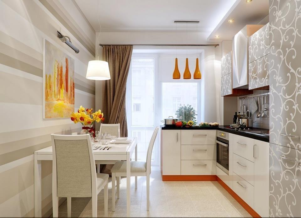 Оформление кухни в квартире фото