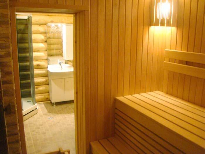 Внутренняя отделка бани фото своими руками
