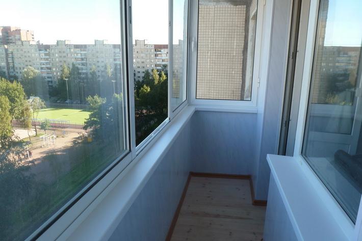 Отделка лоджии панелями ПВХ. Присоединение балкона к комнате.