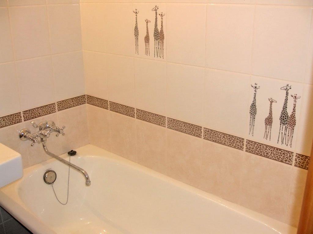 Плитка в ванной своими