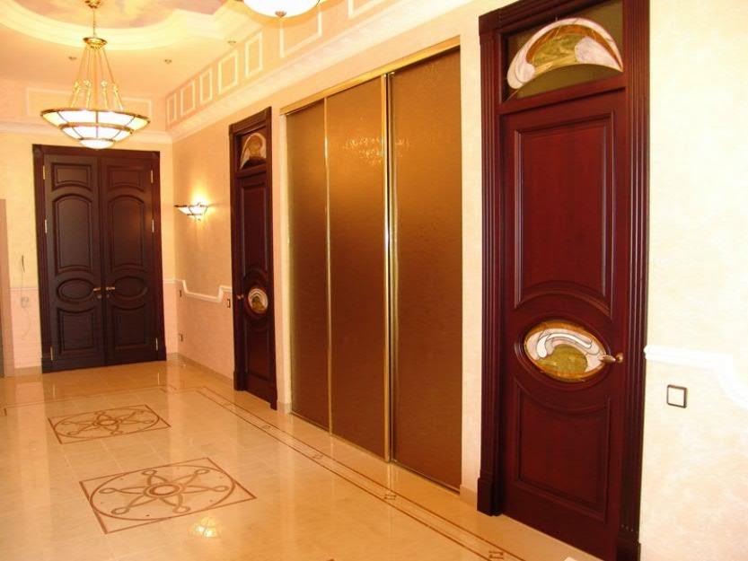 Каким цветом поставить межкомнатные двери