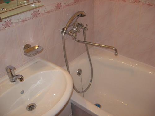 Простой ремонт в ванной