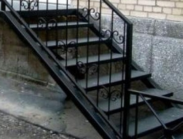 лестница фото уличная