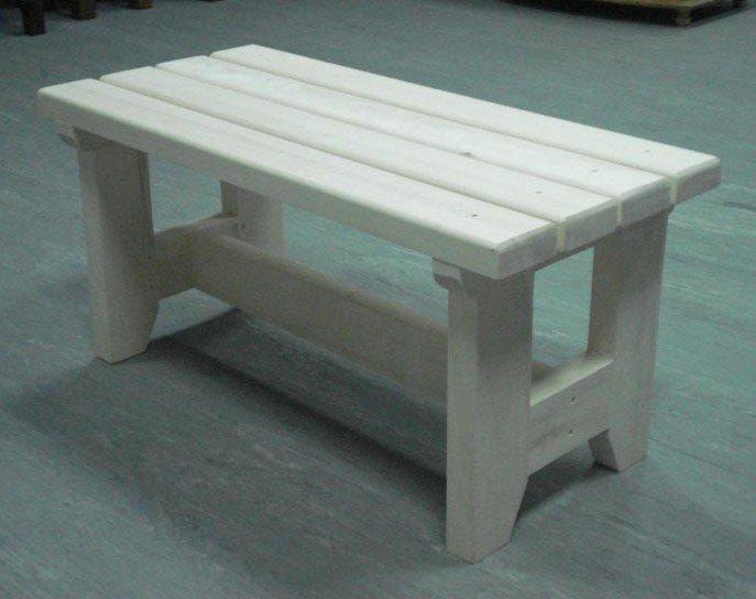 Как изготовить скамейку для бани из дерева своими руками