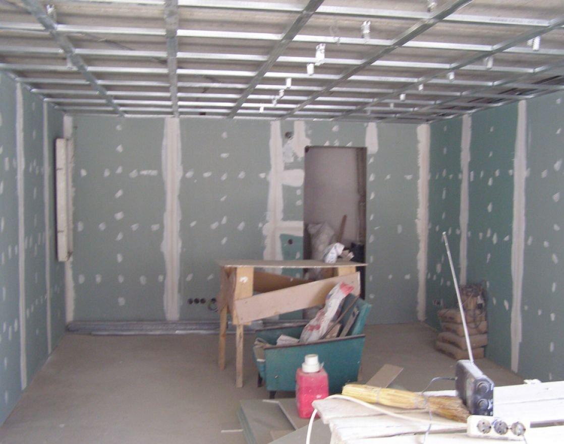Ремонт квартиры потолки из гипсокартона  видео