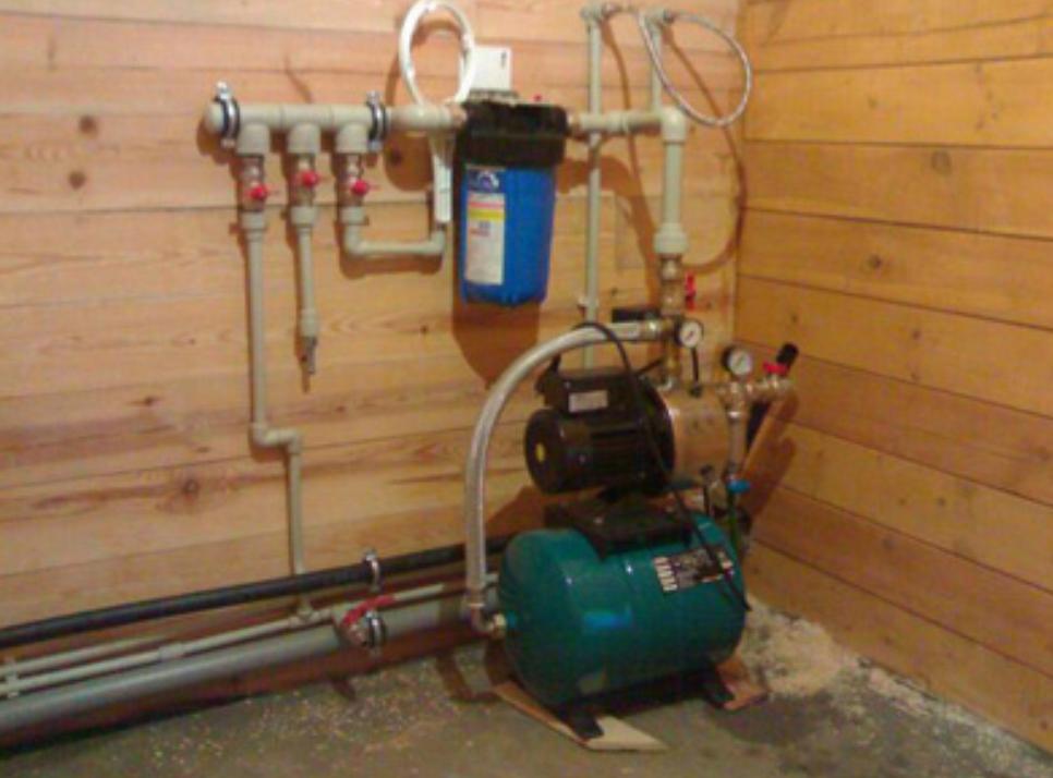 Как в частном доме сделать водопровод из скважины 23
