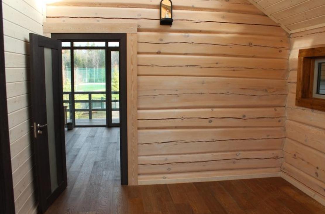 Внутренняя отделка старых деревянного дома