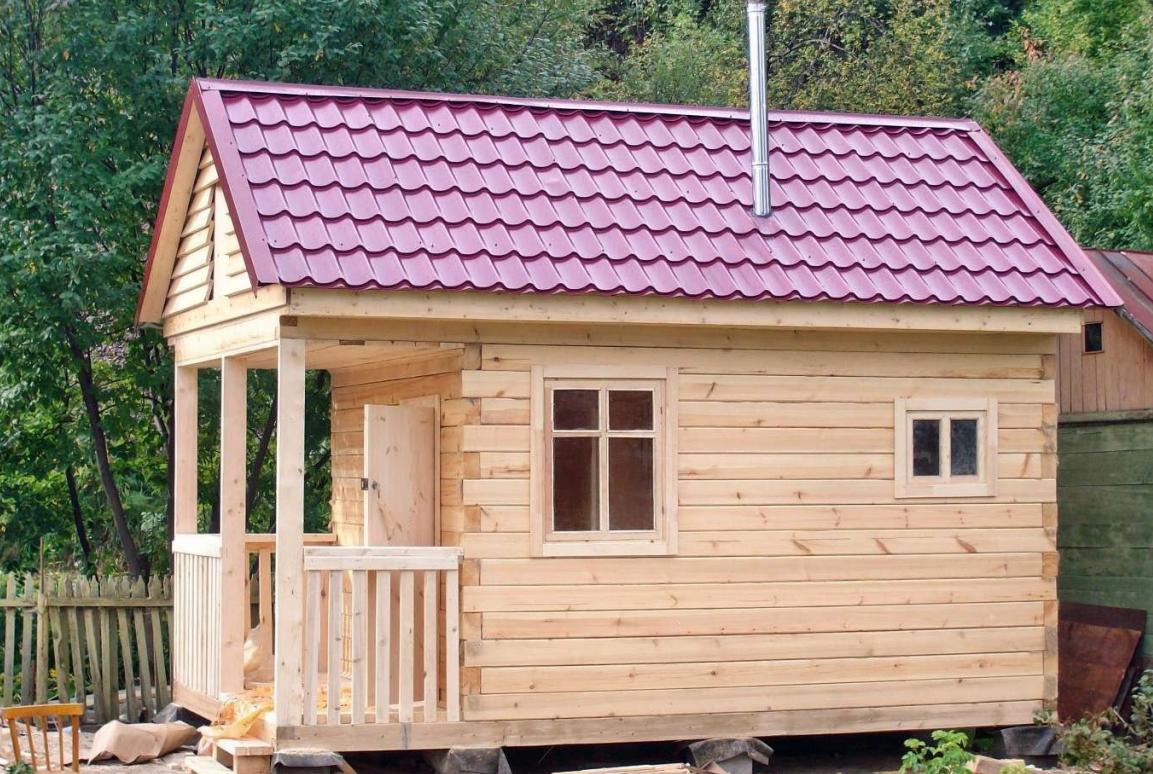 Как построить баню на даче своими руками поэтапно