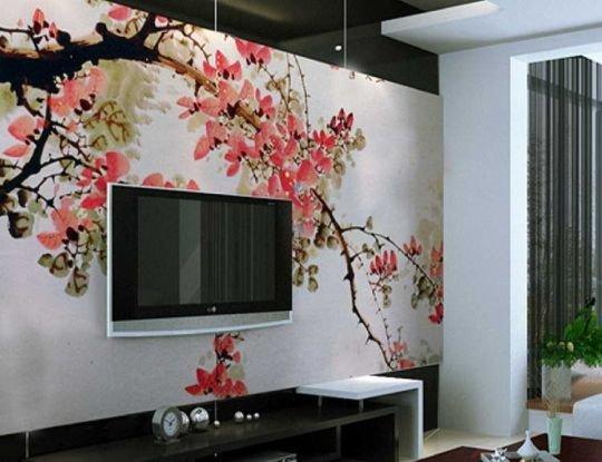 обои в японском стиле для стен фото