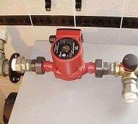 Циркуляционный насос для горячего водоснабжения