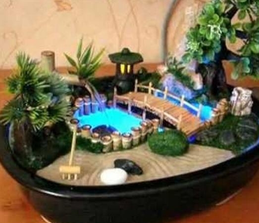 Комнатный фонтаны своими руками фото