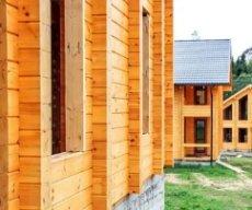 Строительство деревянных домов из клееного бруса: вещества, делающие брус более совершенным.