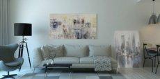 Как вписать абстрактную живопись в интерьер: 5 советов